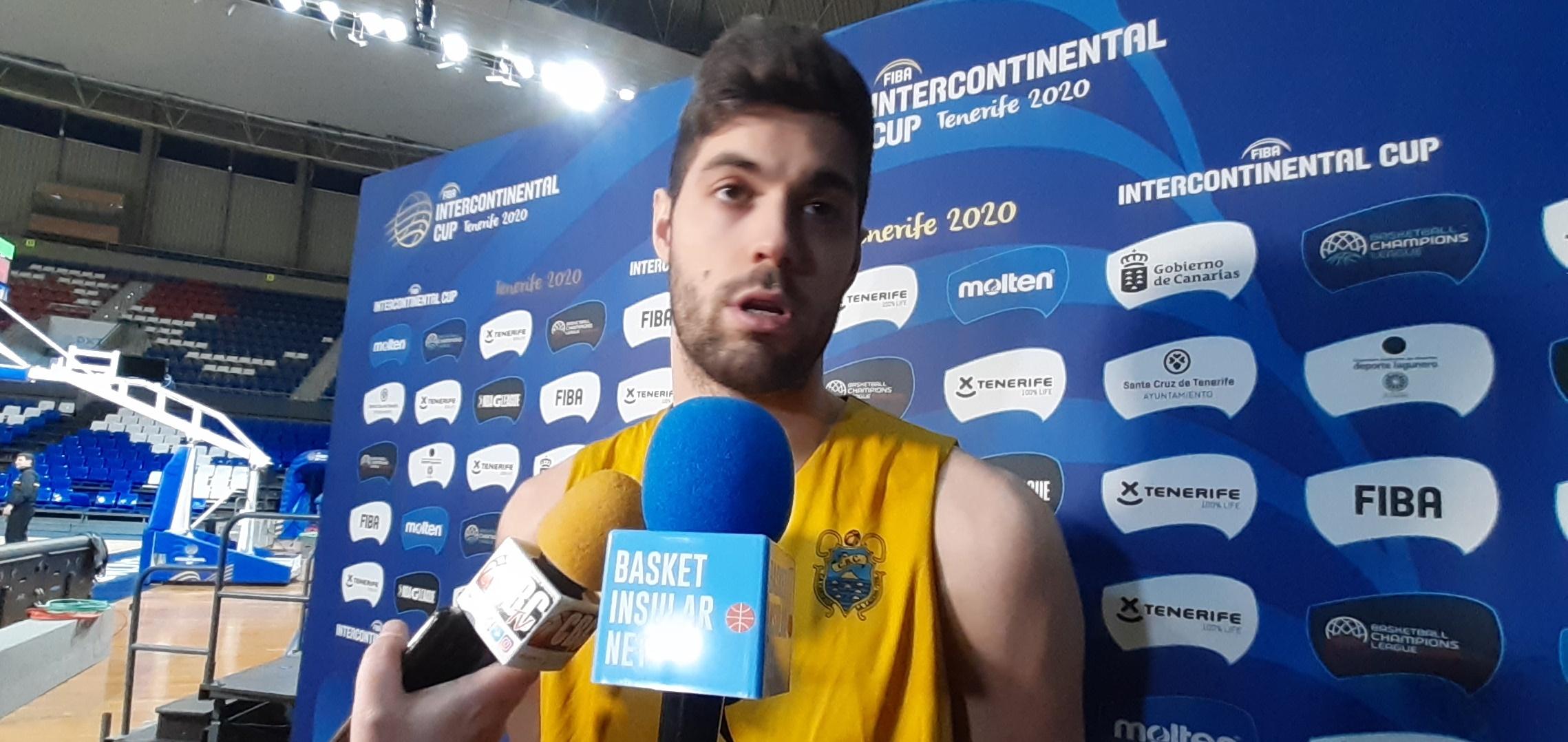 Yusta: «La Intercontinental es muy importante para nosotros porque es un título mundial»