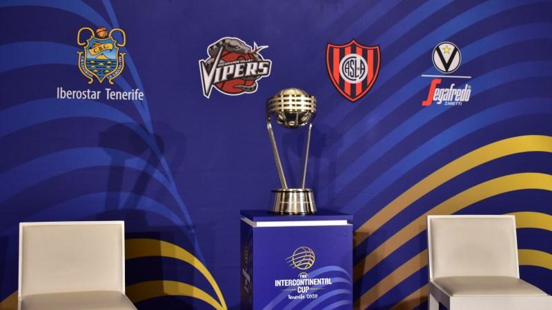 FIBA presentó la Copa Intercontinental Tenerife 2020