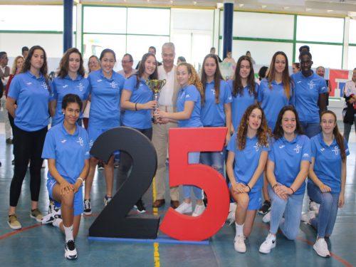 Tenerife Central y La Salle Laguna Santo Domingo, campeones del XXIII Torneo La Candelaria