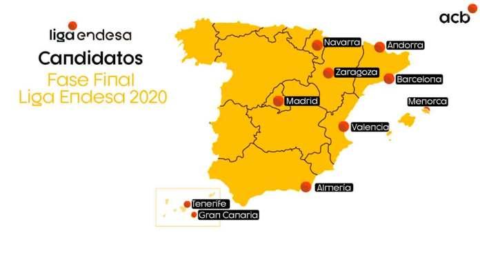 Tenerife y Gran Canaria entre las sedes candidatas para celebrar la F12 de la ACB