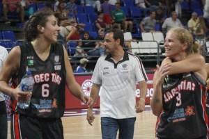 Yaiza García, Jesús García y Regina Gómez