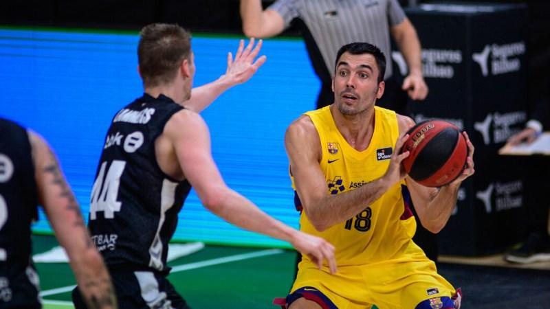 El Barça supera al Bilbao Basket para seguir invicto y confirmar su condición de semifinalista