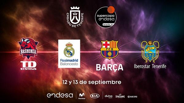 [DIRECTO] Sorteo de la Supercopa ACB 2020 de Tenerife