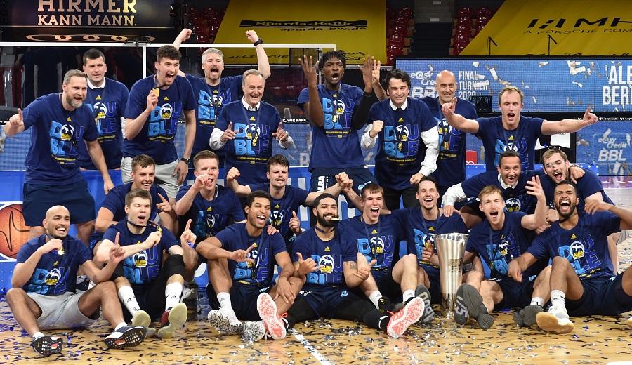 El 'canario' Alba Berlín, campeón de Liga en Alemania
