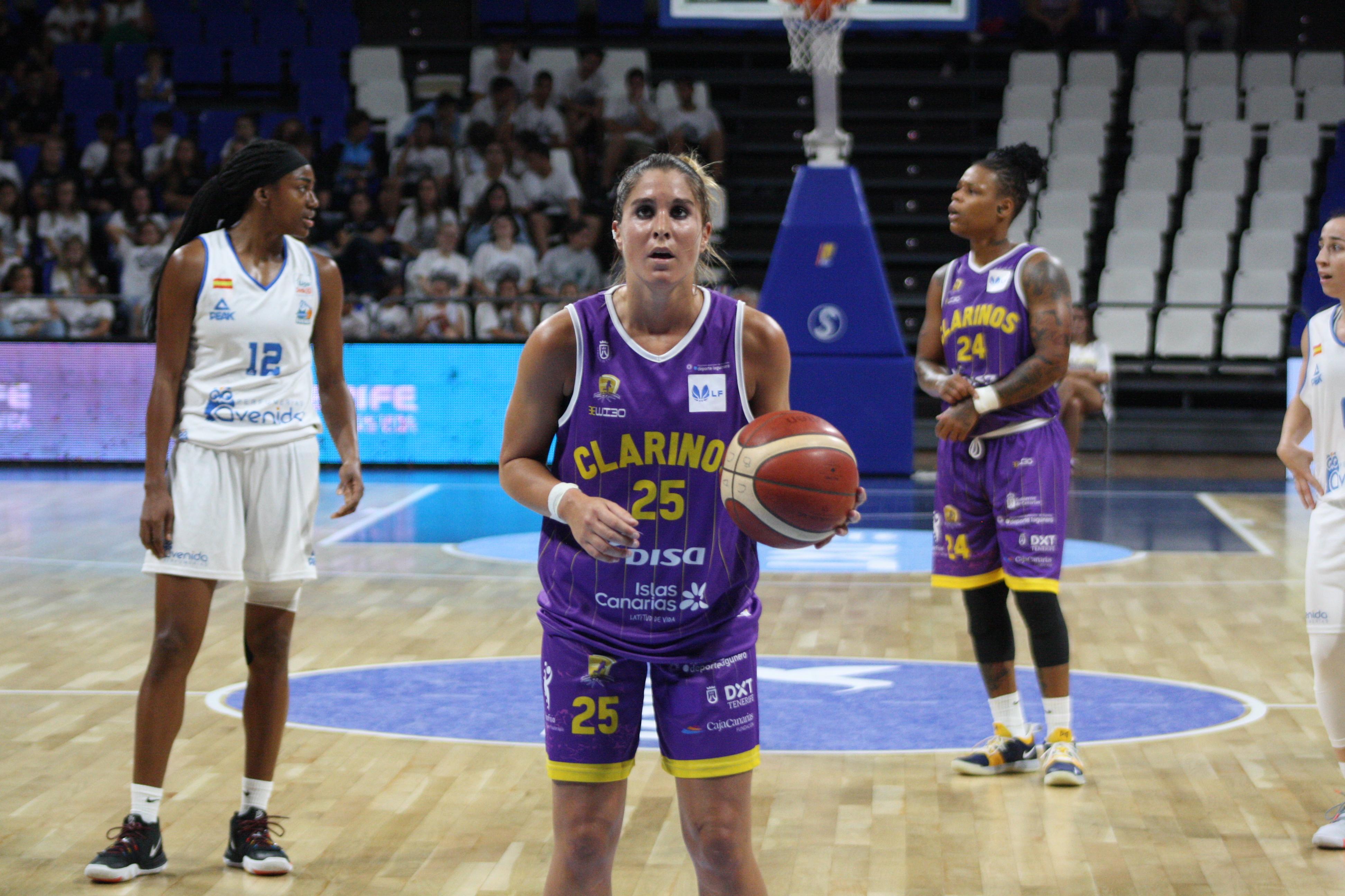 El Adareva de Liga Femenina 2, posible destino de Cristina Pedrals