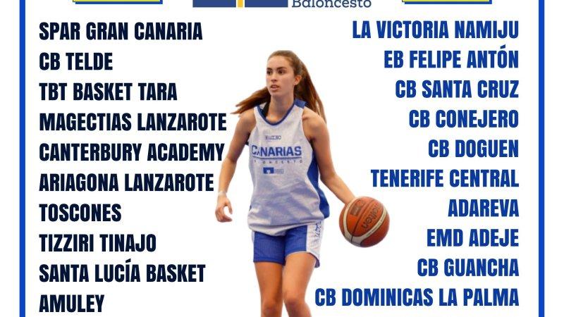 La Federación Canaria propone que la Liga Cadete Autonómica Femenina 20/21 sea de veintiséis equipos