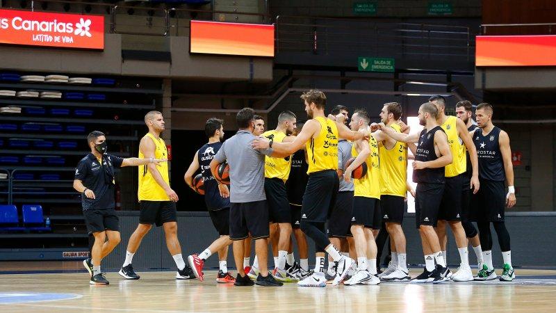 El debut aurinegro en la ACB 20/21 será este lunes a las 19:30 horas