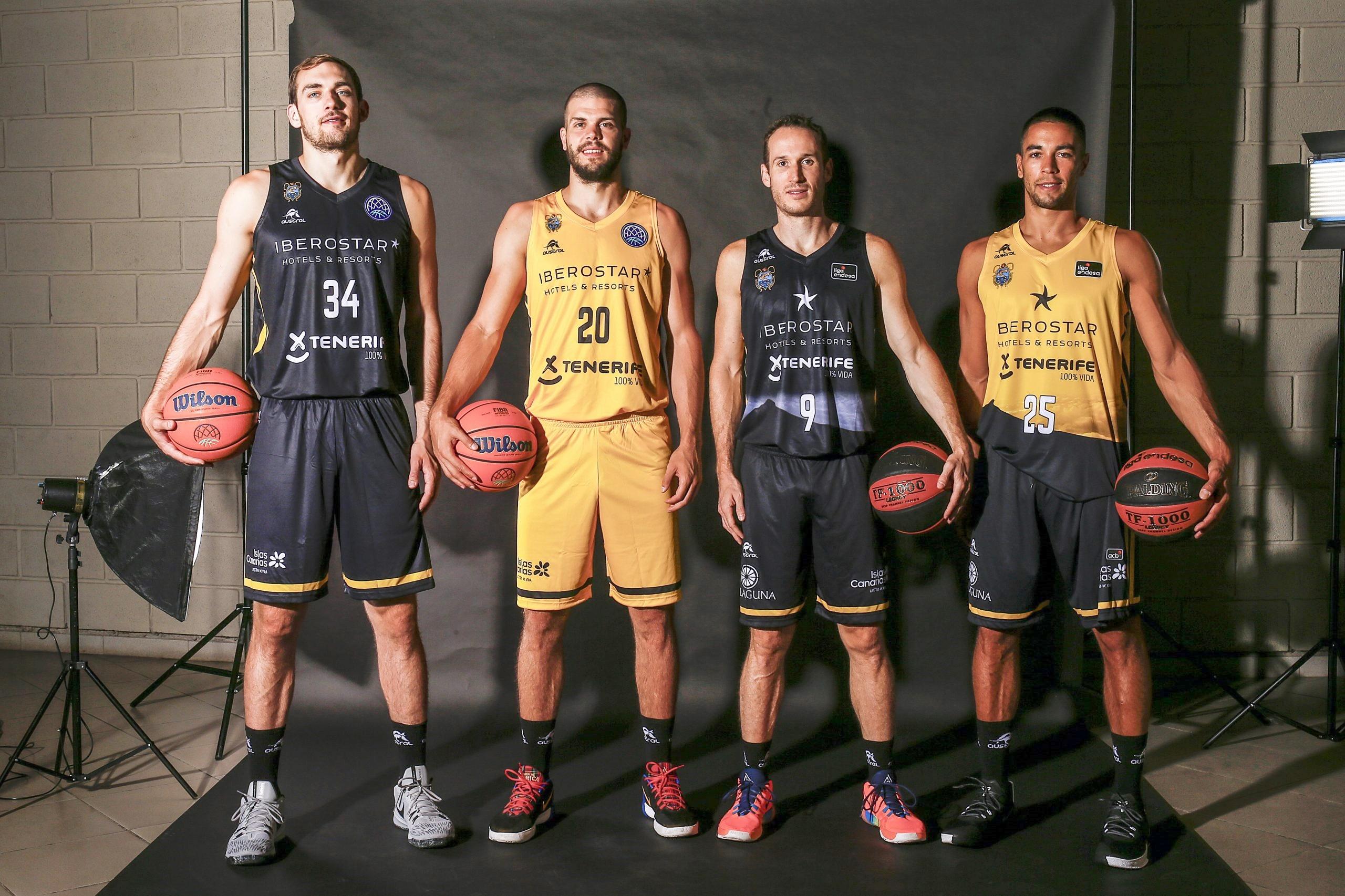 El Cantera Base 1939 Canarias vuelve a vestir de negro en ACB y de amarillo en BCL