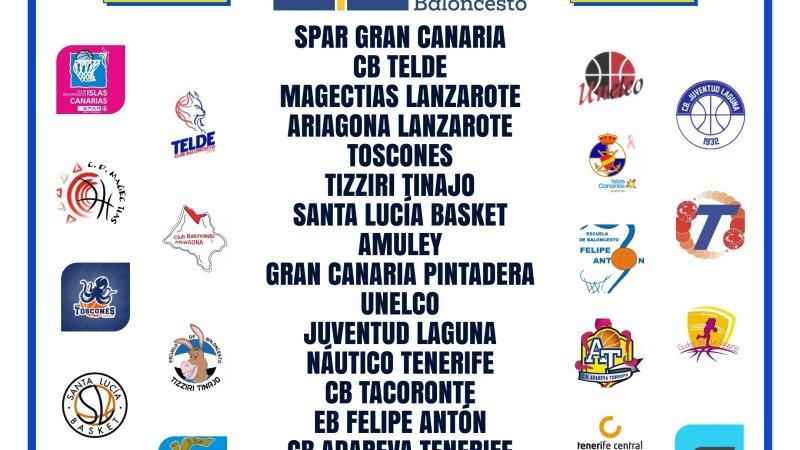 La Federación Canaria propone que la Liga Júnior Autonómica Femenina 20/21 sea de diecinueve equipos