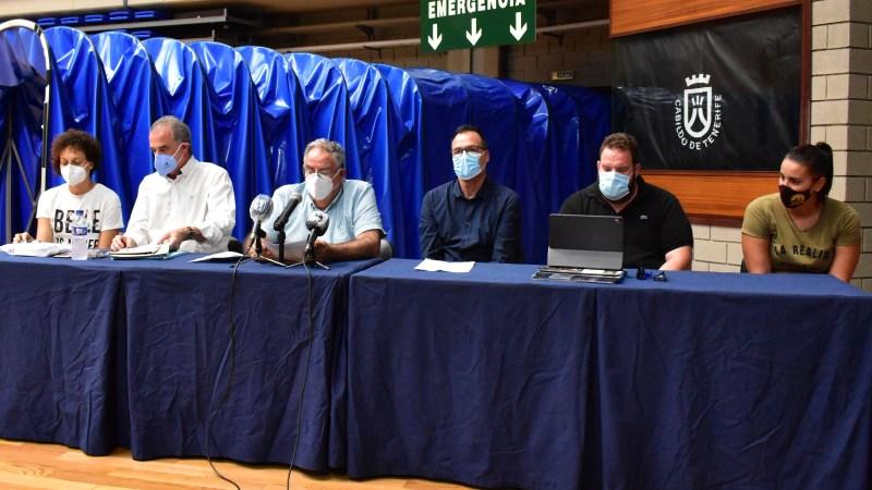 [VÍDEO] 'BASKET INSULAR TV': Así fue la rueda de prensa en la que el Clarinos respaldó a Claudio García