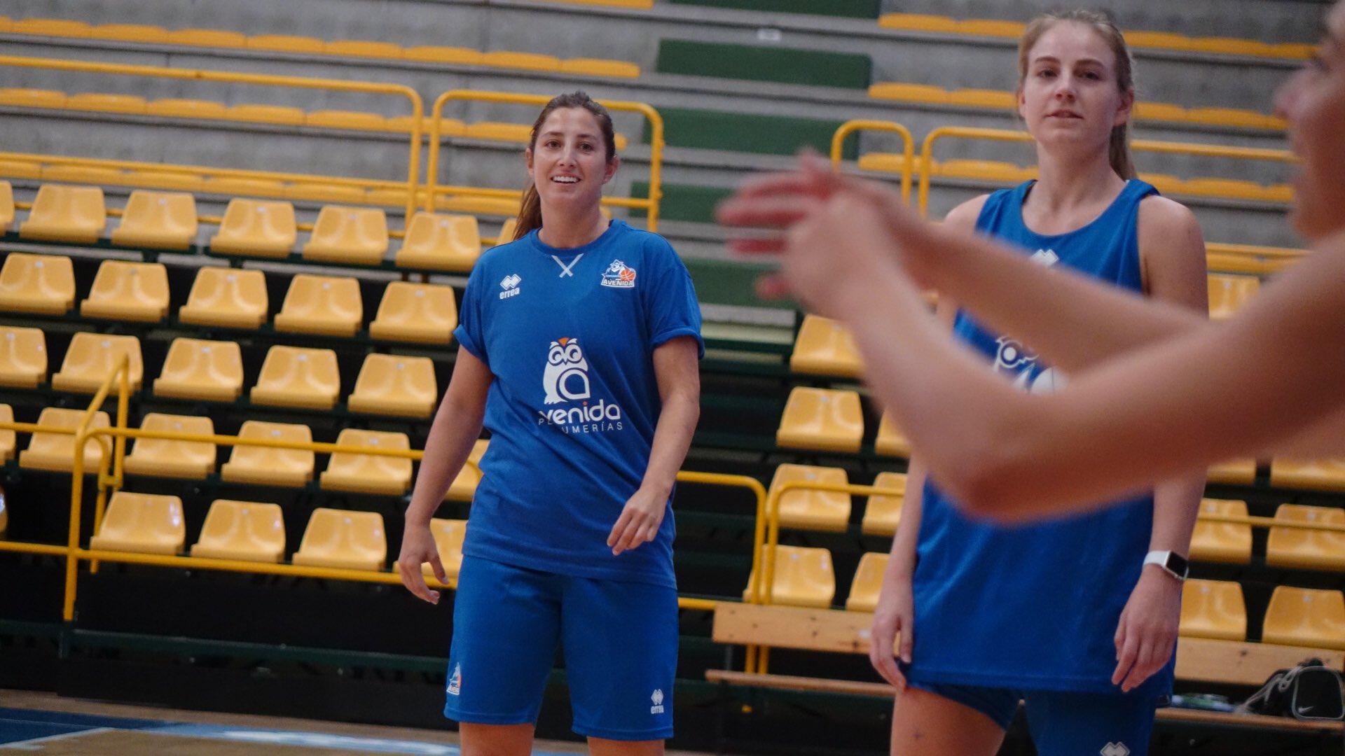 Leonor Rodríguez comenzó a entrenar con el CB Avenida