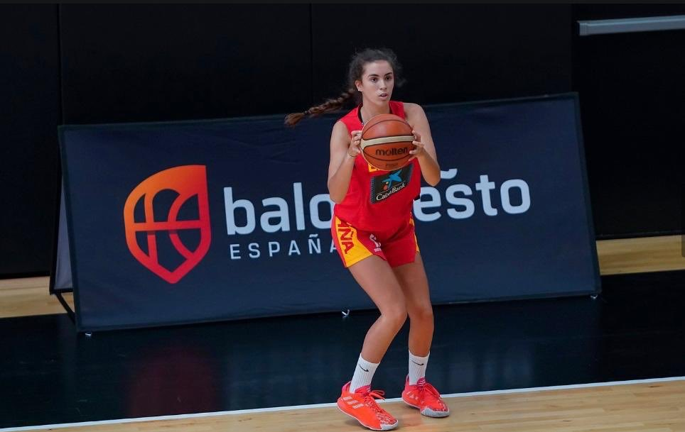 La grancanaria Lucía Leal convocada por la selección U15 para preparar el Europeo de 2022