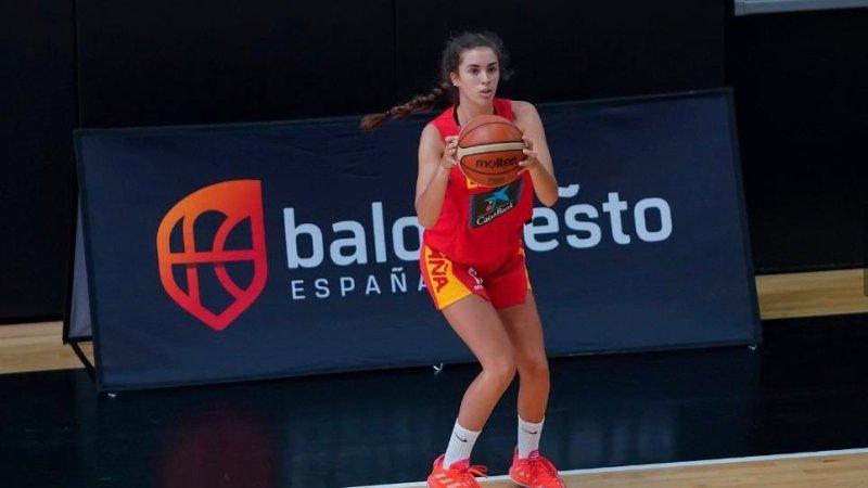 Lucía Leal, convocada por la U15 de España