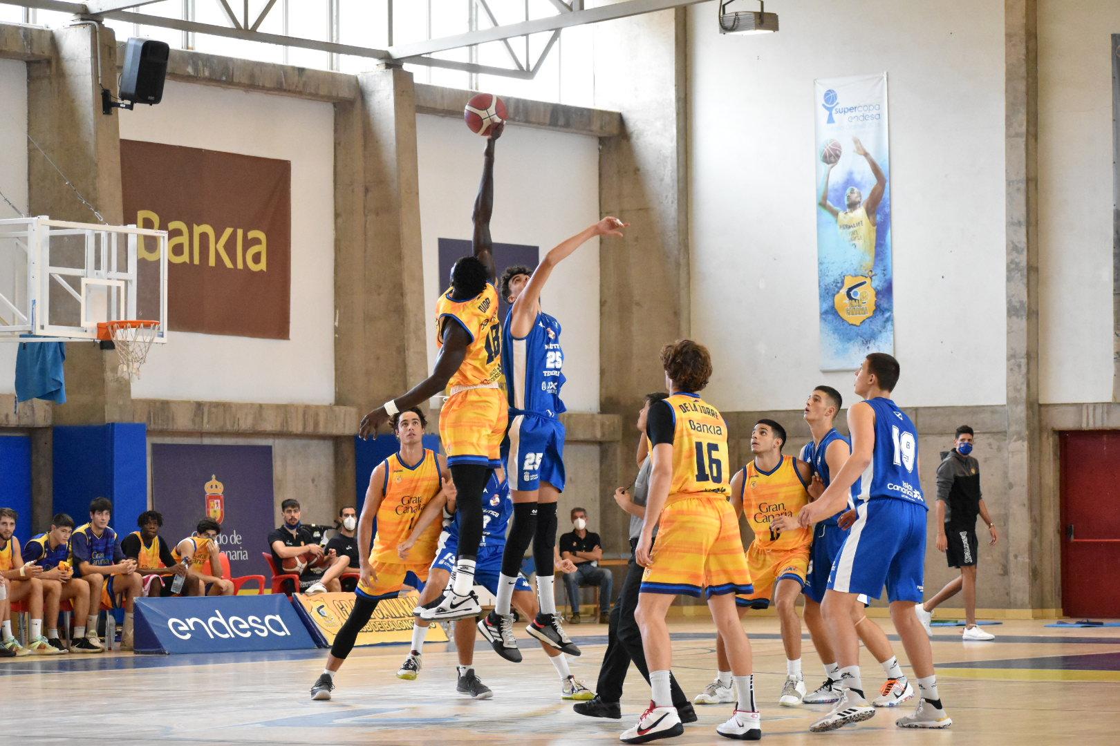 El Gran Canaria-Claret de LEB Plata vence al Náutico de EBA y gana la Copa Gobierno de Canarias