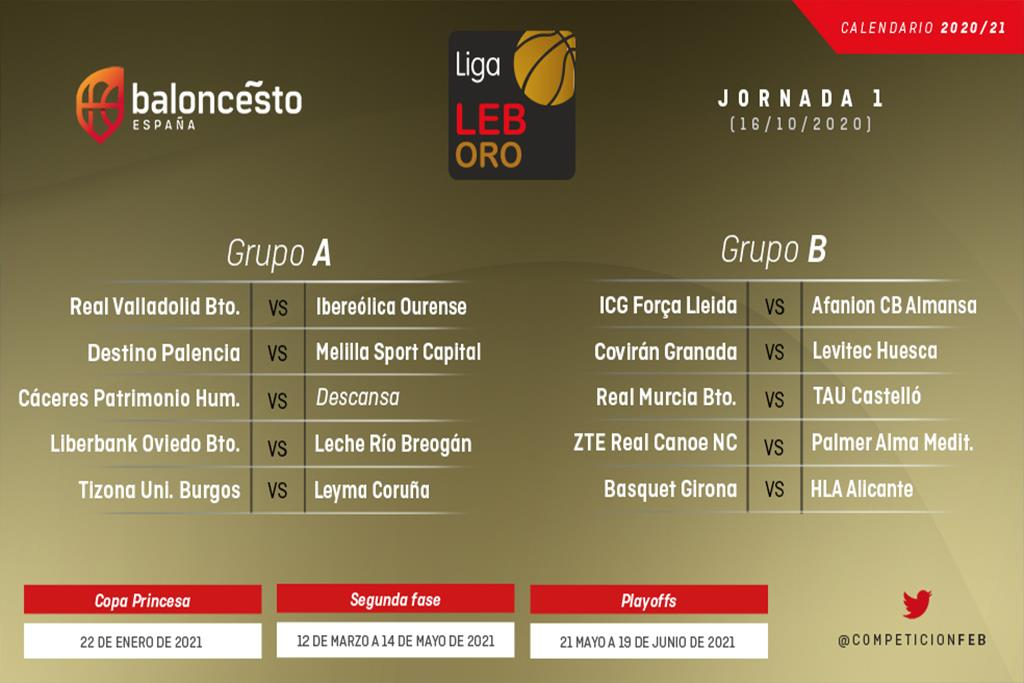La LEB Oro ya tiene calendario de competición
