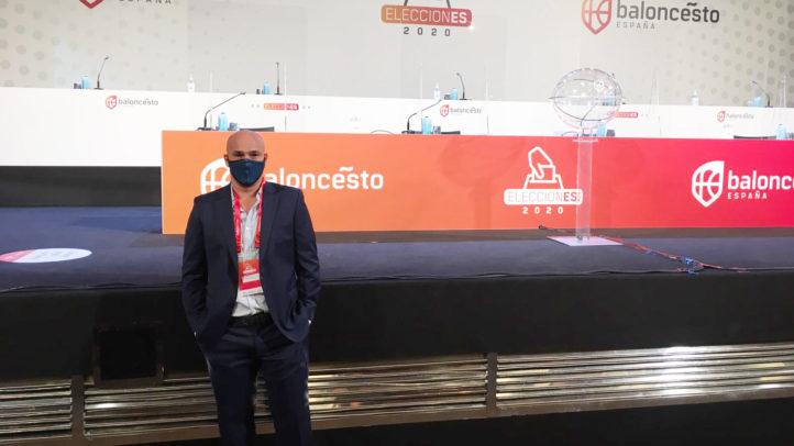 Juanmi Morales, elegido nuevamente en la Comisión Delegada de la FEB