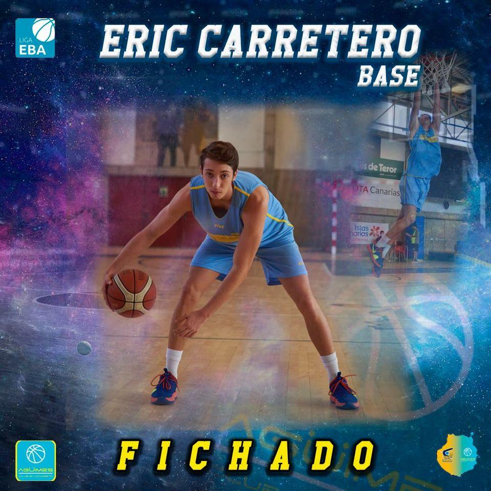 Eric Carretero, del Gran Canaria-Claret al Agüimes de Liga EBA