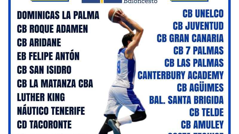 La Liga Canaria Júnior Masculina comenzará el 1 de noviembre con cuatro grupos