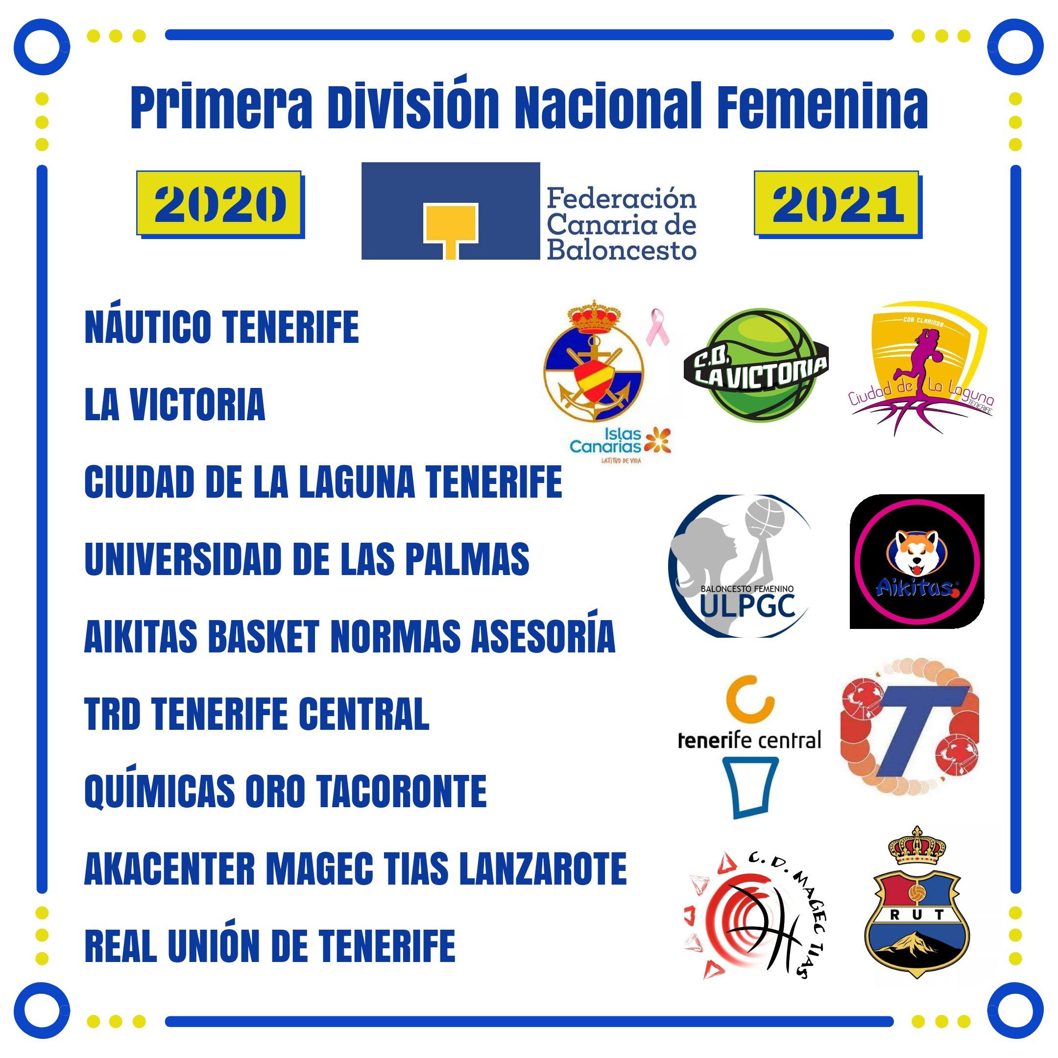 La Primera Autonómica Femenina, con nueve equipos, comenzará el 31 de octubre