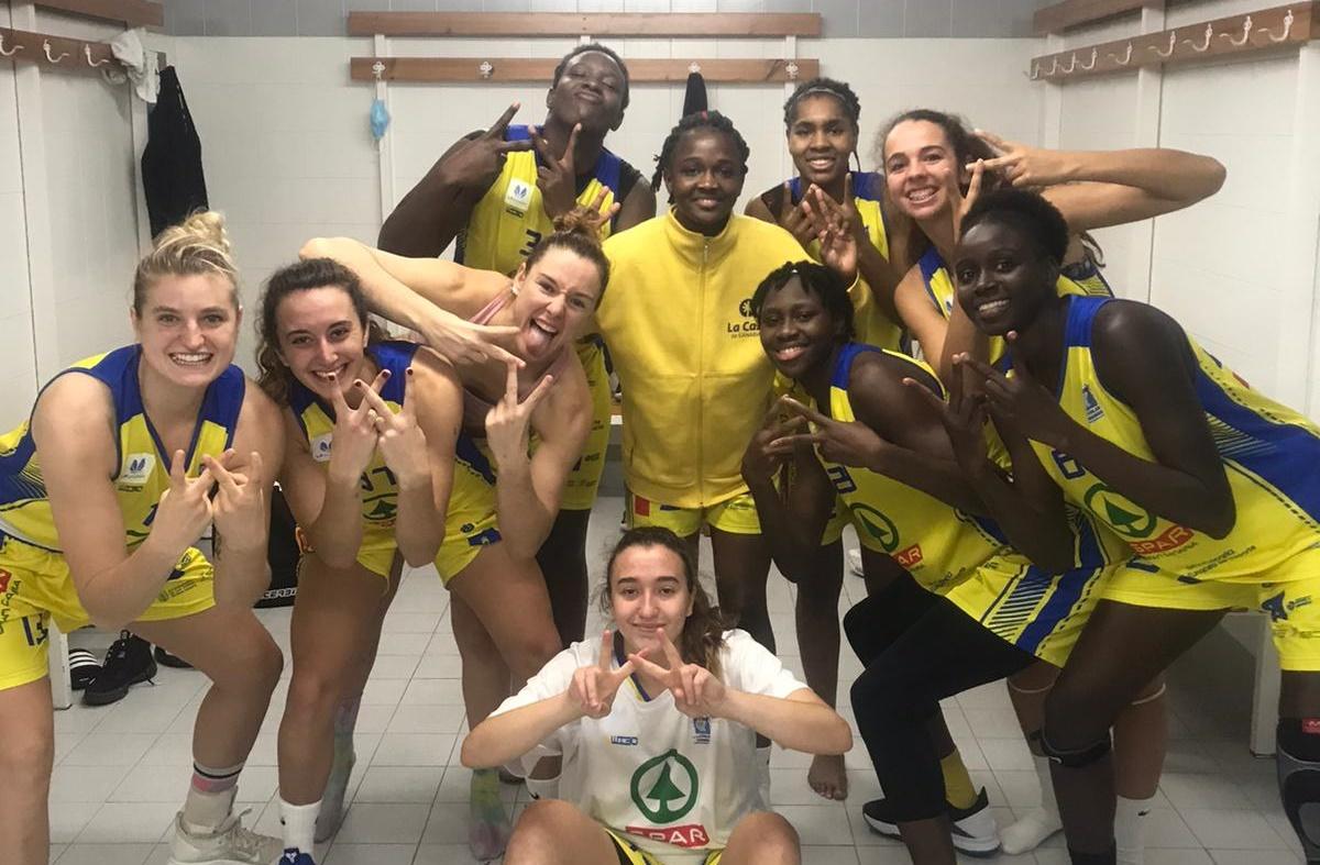 Importantísima primera victoria de la temporada del CB Islas Canarias