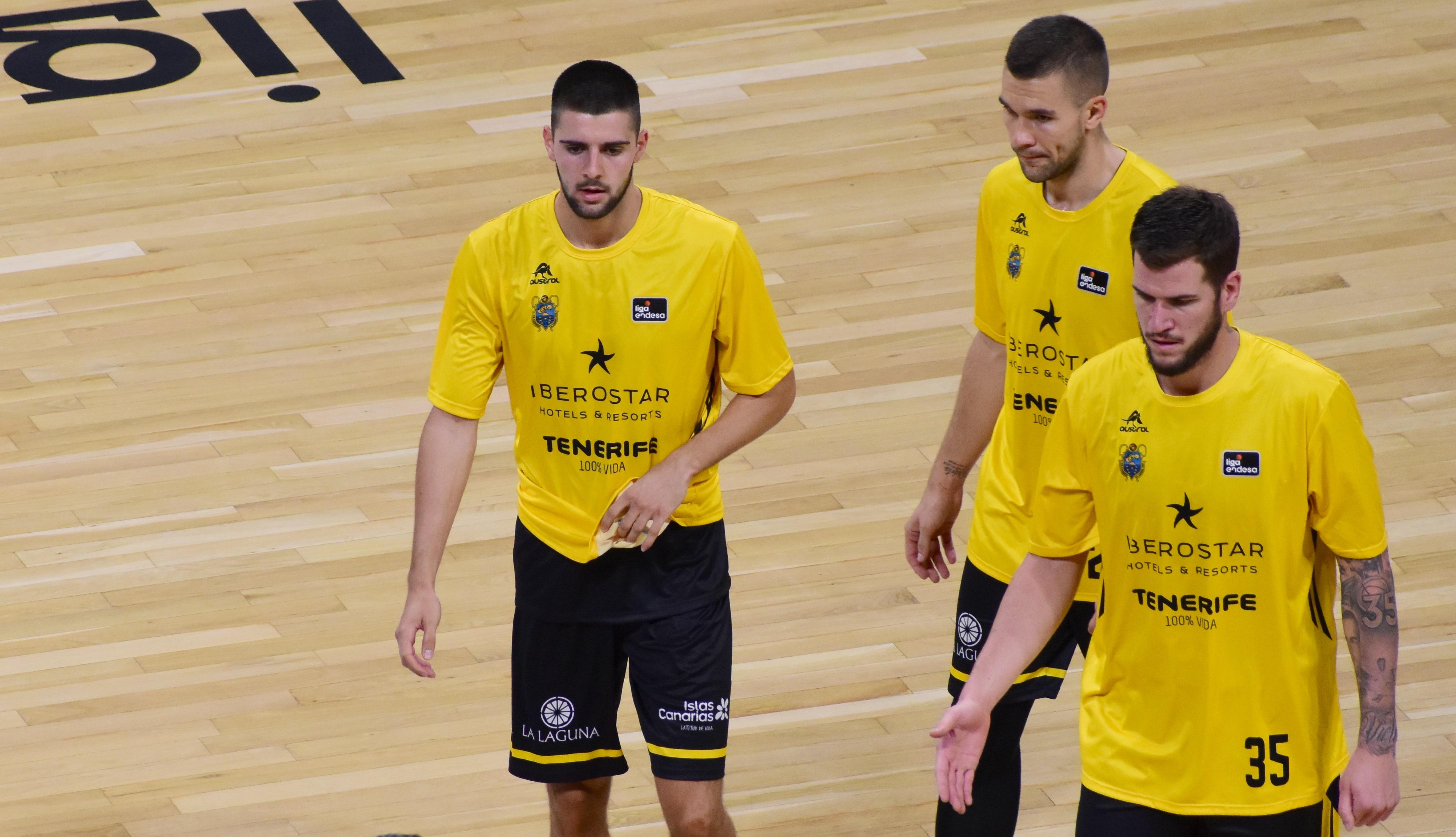 Danilo Brnovic entró por primera vez en una convocatoria ACB
