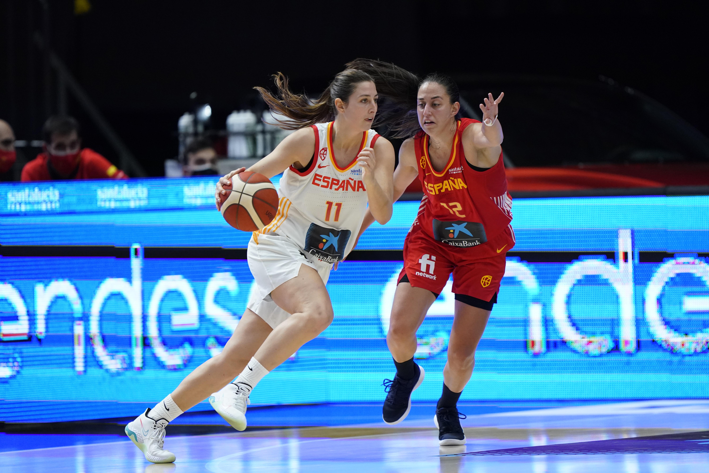 Maite Cazorla y Astou Ndour ganaron a Leonor Rodríguez