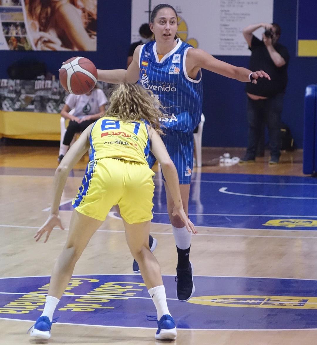 Avenida venció al CB Islas Canarias en el partido más insular de Liga Femenina