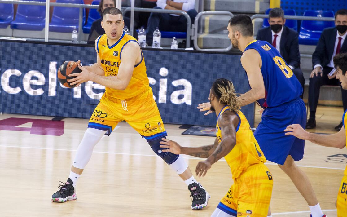 Beqa Burjanadze deja de ser jugador del Gran Canaria-Claret