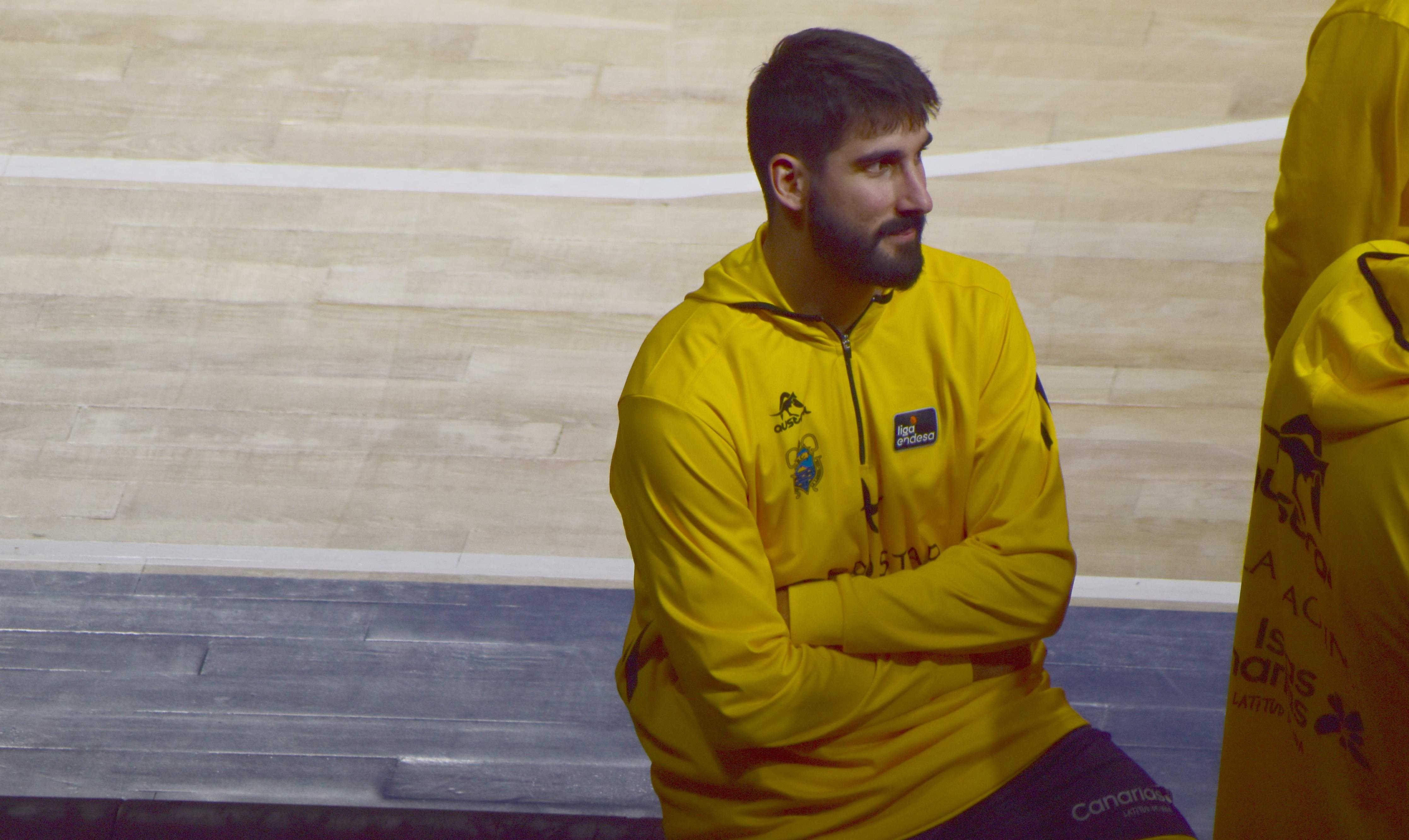 Díez, feliz porque la espalda no le duele, reconoce el buen partido ante Baskonia y advierte del peligro de Andorra