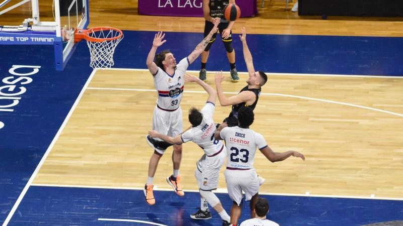 Danilo Brnovic debutó en ACB como aurinegro