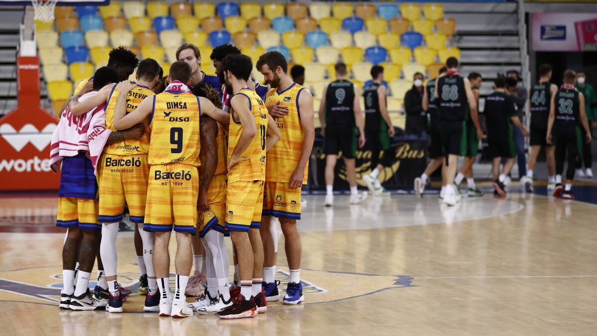 Gran Canaria-Claret confirma un positivo en COVID-19 entre sus jugadores de la primera plantilla