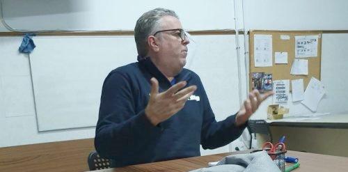 Jorge Olano, en la Comisión de Competiciones Femeninas de la FEB