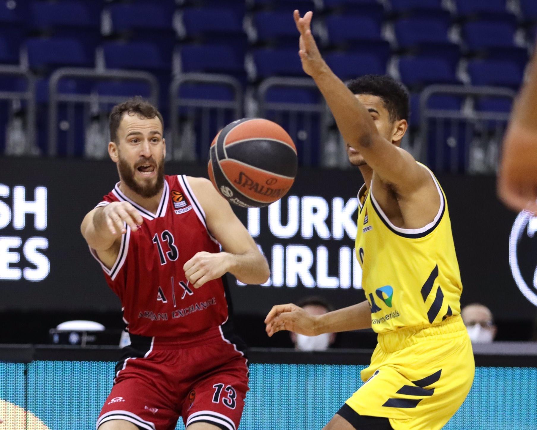 Sergio Rodríguez repartió juego en la duodécima victoria del Olimpia Milano en Euroliga