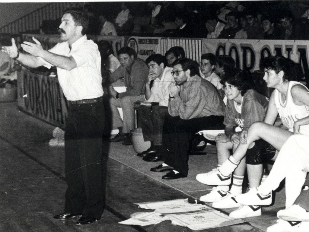 Falleció Paco Martínez, entrenador del Coronas Tenerife
