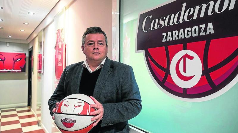 Gastón, gerente de Basket Zaragoza, considera que la ausencia de público puede conllevar la desaparición de clubes ACB
