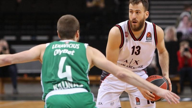 Discreto partido de Sergio Rodríguez en la decimoctava victoria de Olimpia Milano en Euroliga