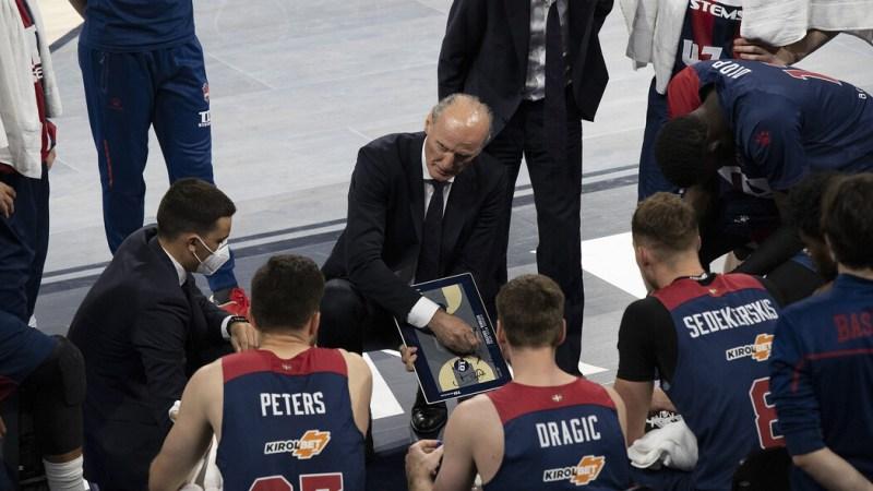 Baskonia cae en casa ante Málaga y la tercera plaza ACB es aurinegra
