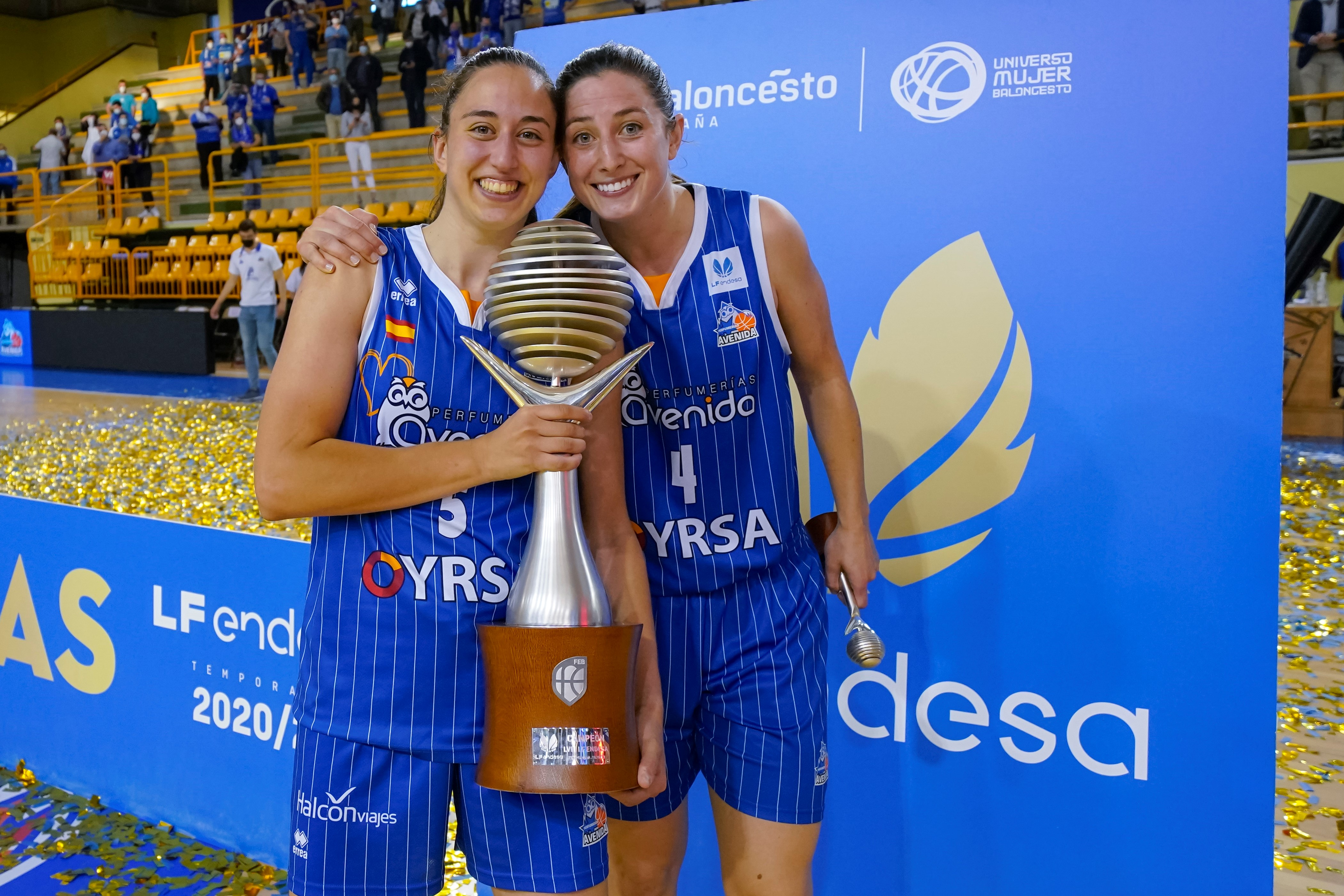 Leonor Rodríguez y Maite Cazorla ya conocen a sus rivales de Euroliga
