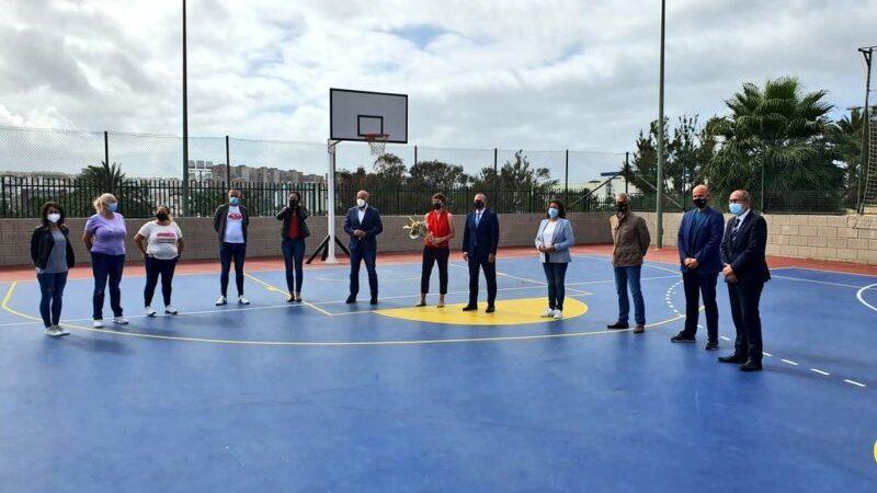 Se inauguraron las Canchas deportivas Rosi Sánchez Luján