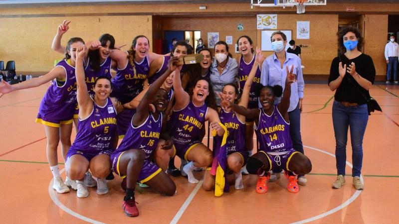 [Galería] Celebración del Clarinos de su título de campeón de Canarias de Primera División Nacional
