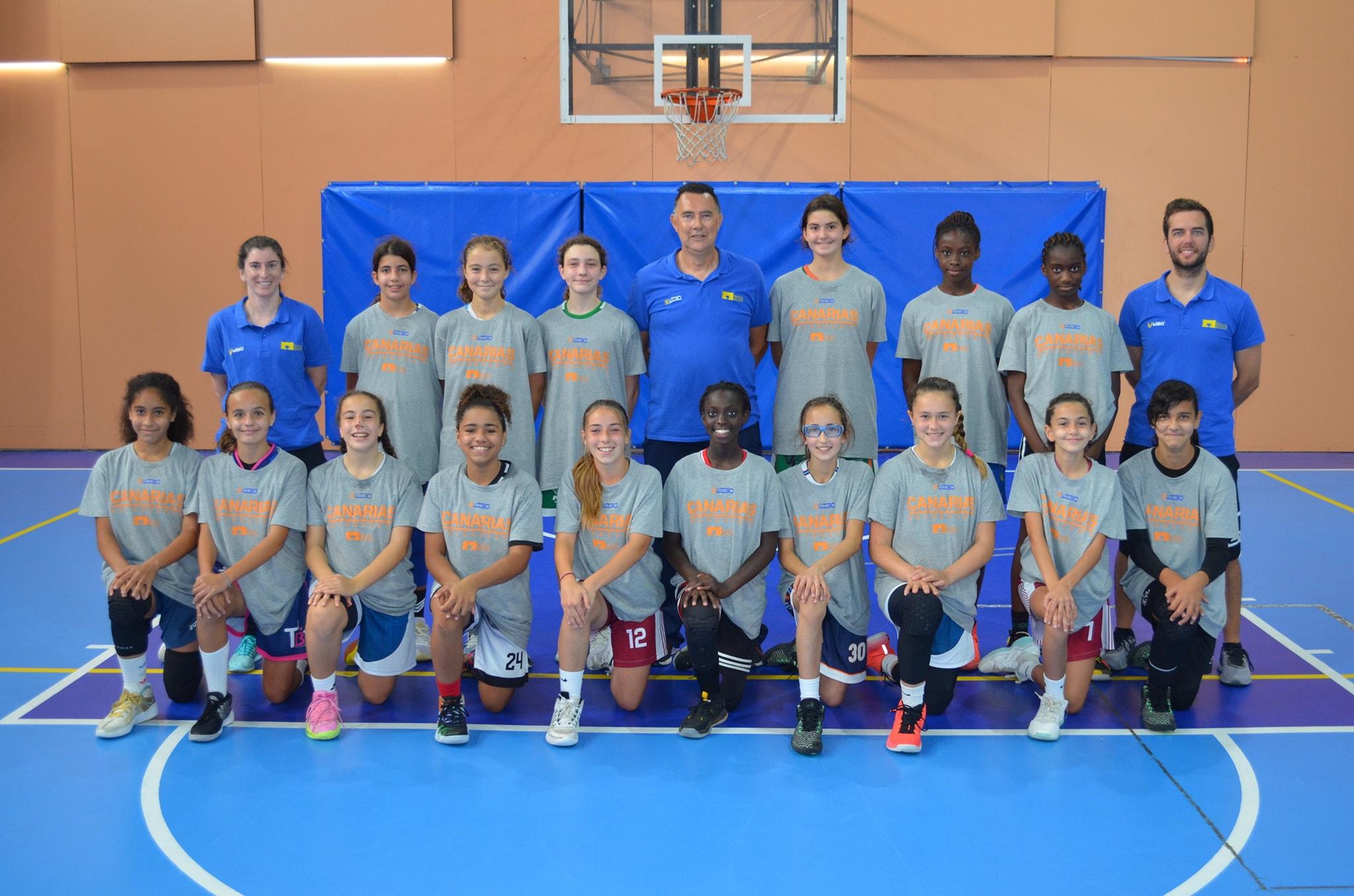La Federación Canaria confirma las selecciones para el Nacional de Comunidades Autónomas de Minibasket