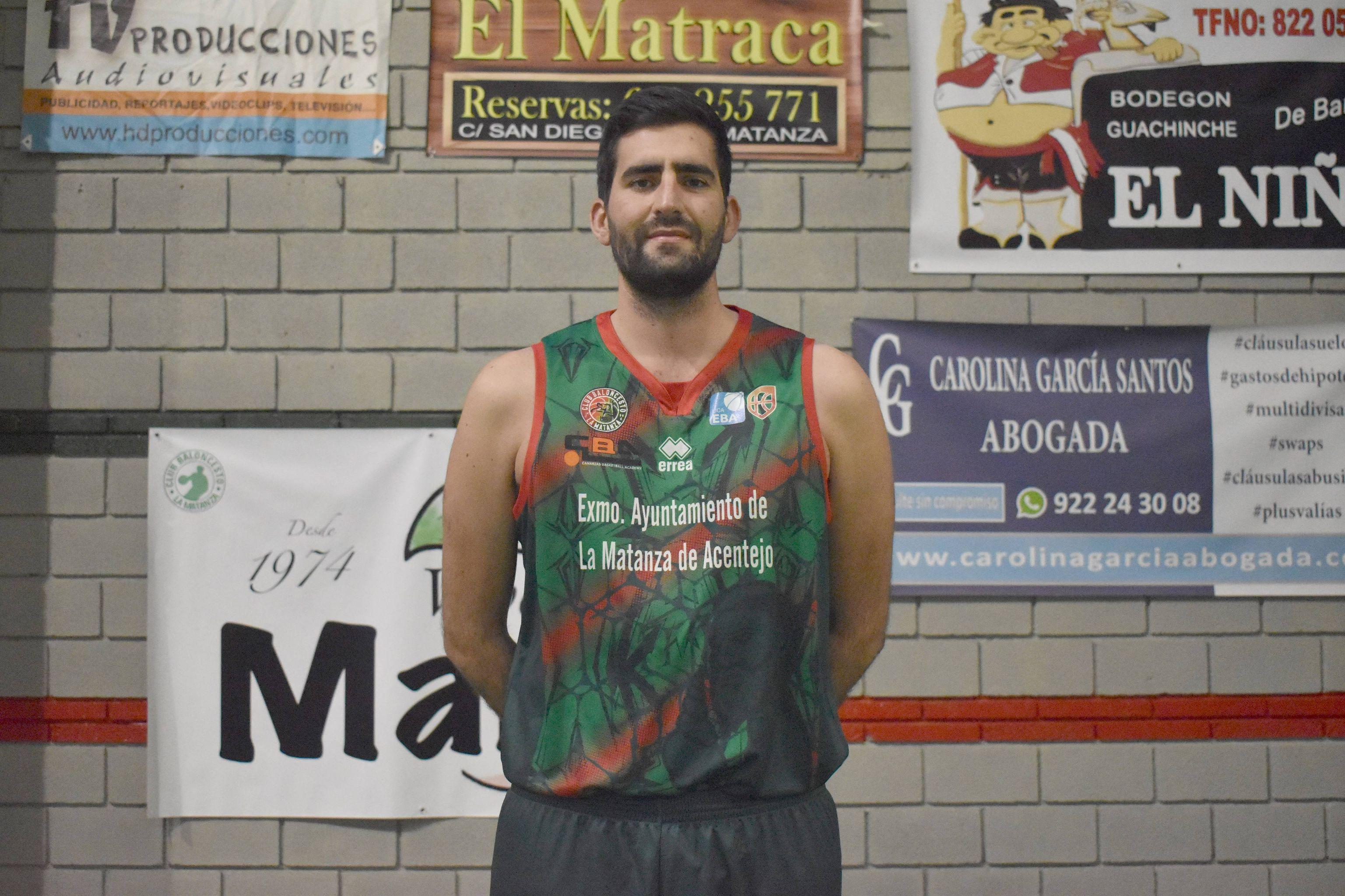 Miguel Monje seguirá en el CB La Matanza de Liga EBA