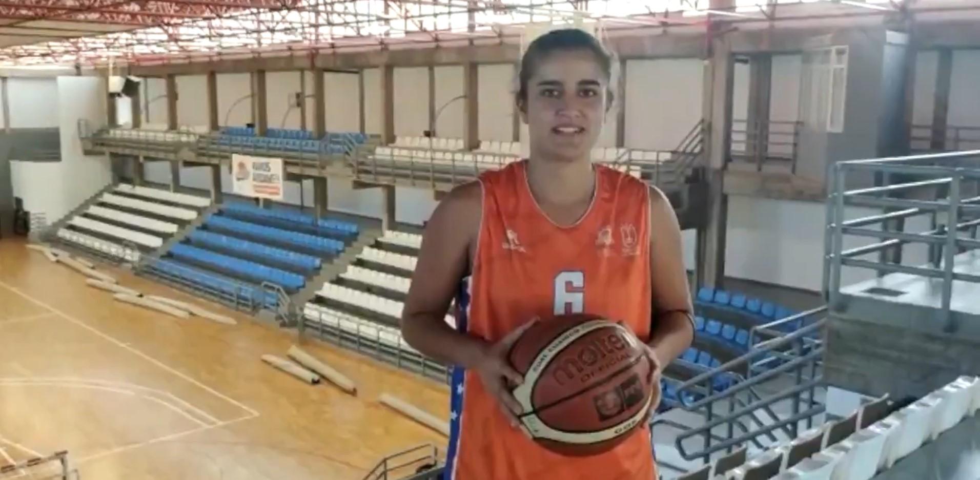 Marta Carballo, base para el Aridane