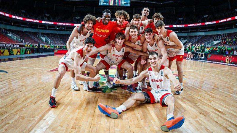 España acaba quinta en el Mundial U19