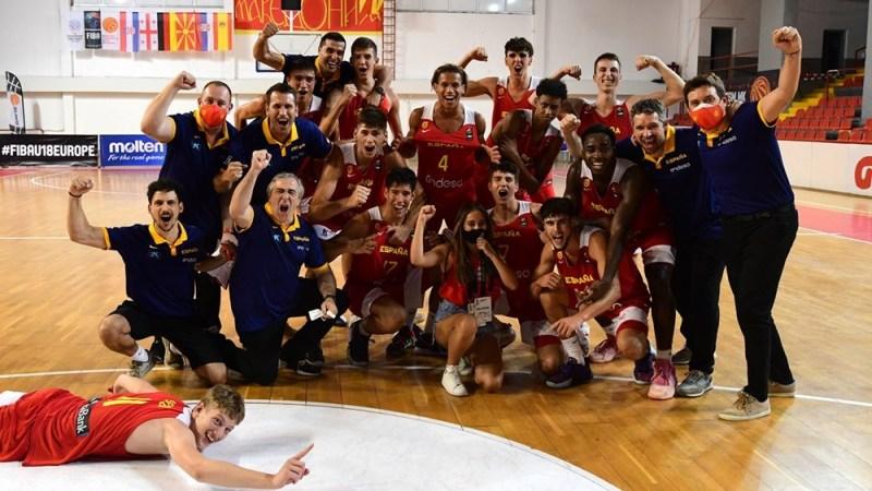 España gana el FIBA Challenge U18 con el aurinegro Guillermo Díaz Graham