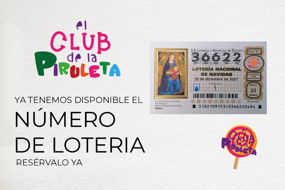 El Club de La Piruleta donará la recaudación de su número de la Lotería de Navidad a los afectados por la crisis volcánica de La Palma