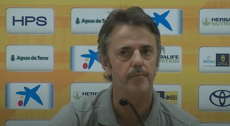 Porfirio Fisac no sabe cuál es el objetivo deportivo de su equipo para esta temporada