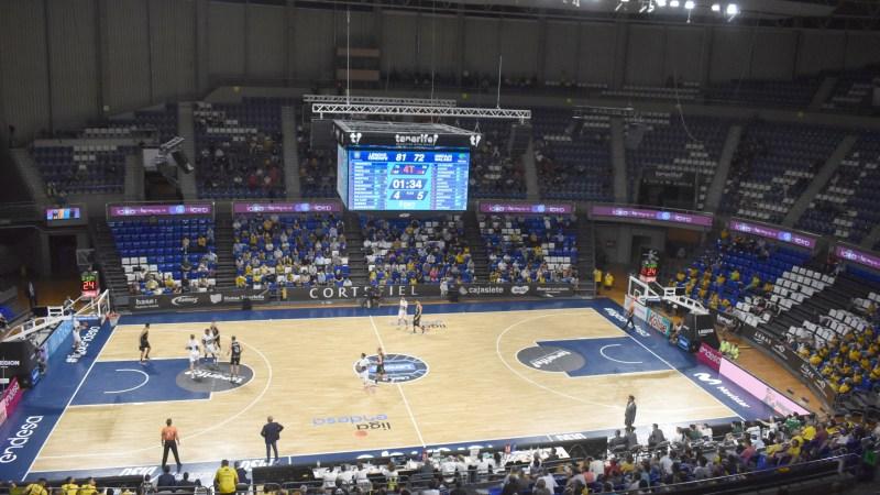 Menos de mil personas en el primer partido aurinegro como local de la ACB 2021/22