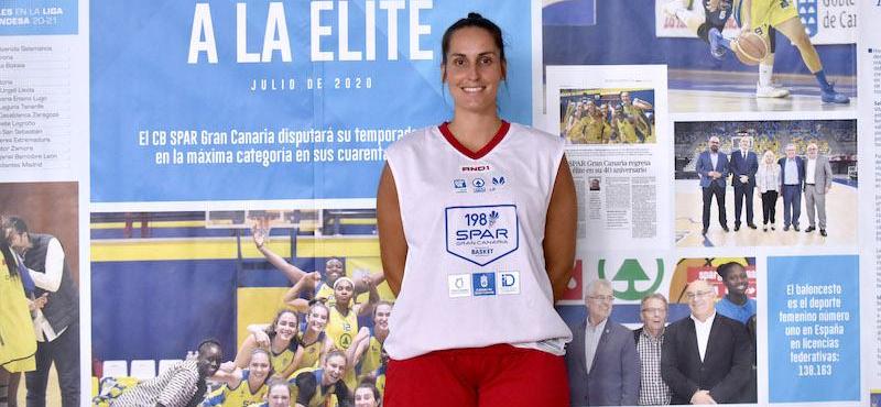 Zenaida Pérez busca una segunda oportunidad en el CB Islas Canarias