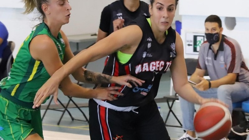 Yaiza García sigue jugando «porque el baloncesto es mi válvula de escape»